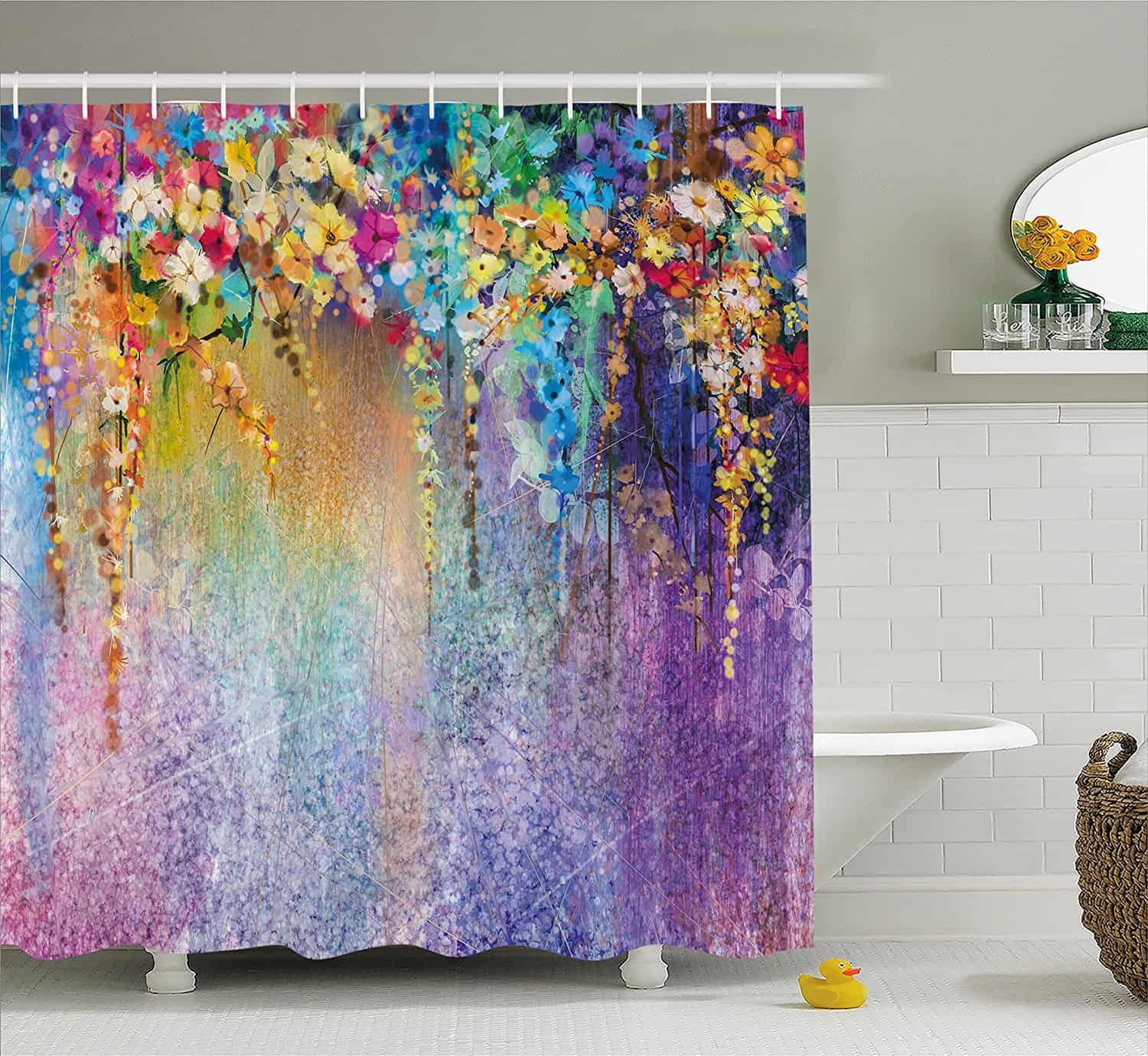 25 Cool Shower Curtains For Your Bathroom Makeover