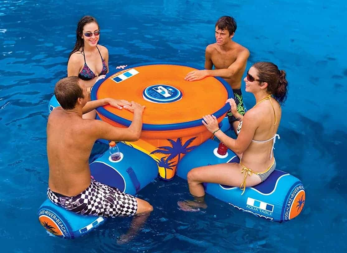 Inflatable Picnic Table Pool Float Thingsidesire