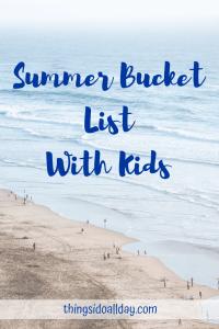 Summer Bucket List Ideas 2019