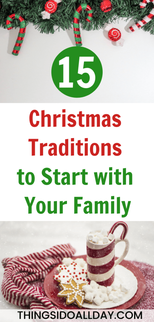 Family Christmas Traditions to Start With Your Kids and Family