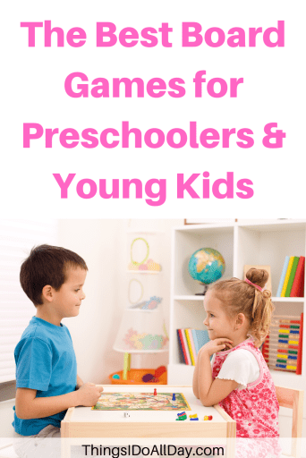 Best Board Games for Families, Kids, Preschoolers and Toddlers