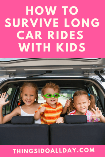 Car Ride Travel Hacks for Long Car Rides with Toddlers and Kids