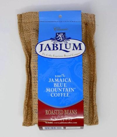 Blue Mountain coffee beans 8oz