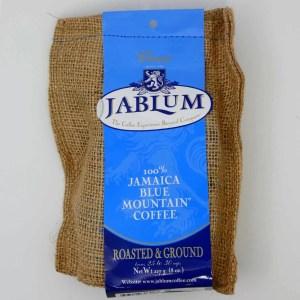 Blue Mountain Coffee Grounds 8oz