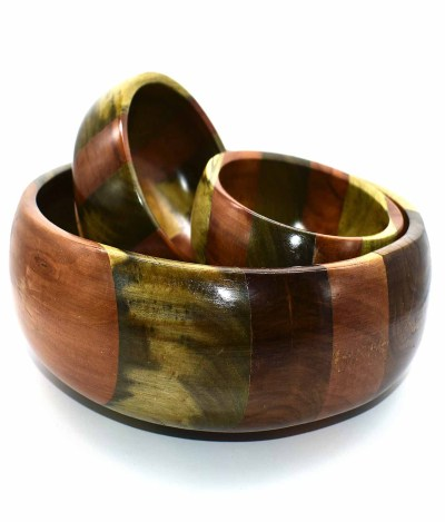 Wooden Bowls for Salad 1pc