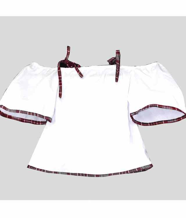 Off Shoulder Blouse With Straps (size7-8) – Best Buy – Shop Now!