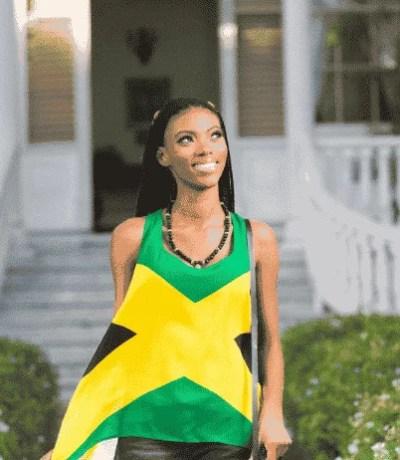 Jamaican Flag Blouse (1pc) - Trendy - Buy Now!