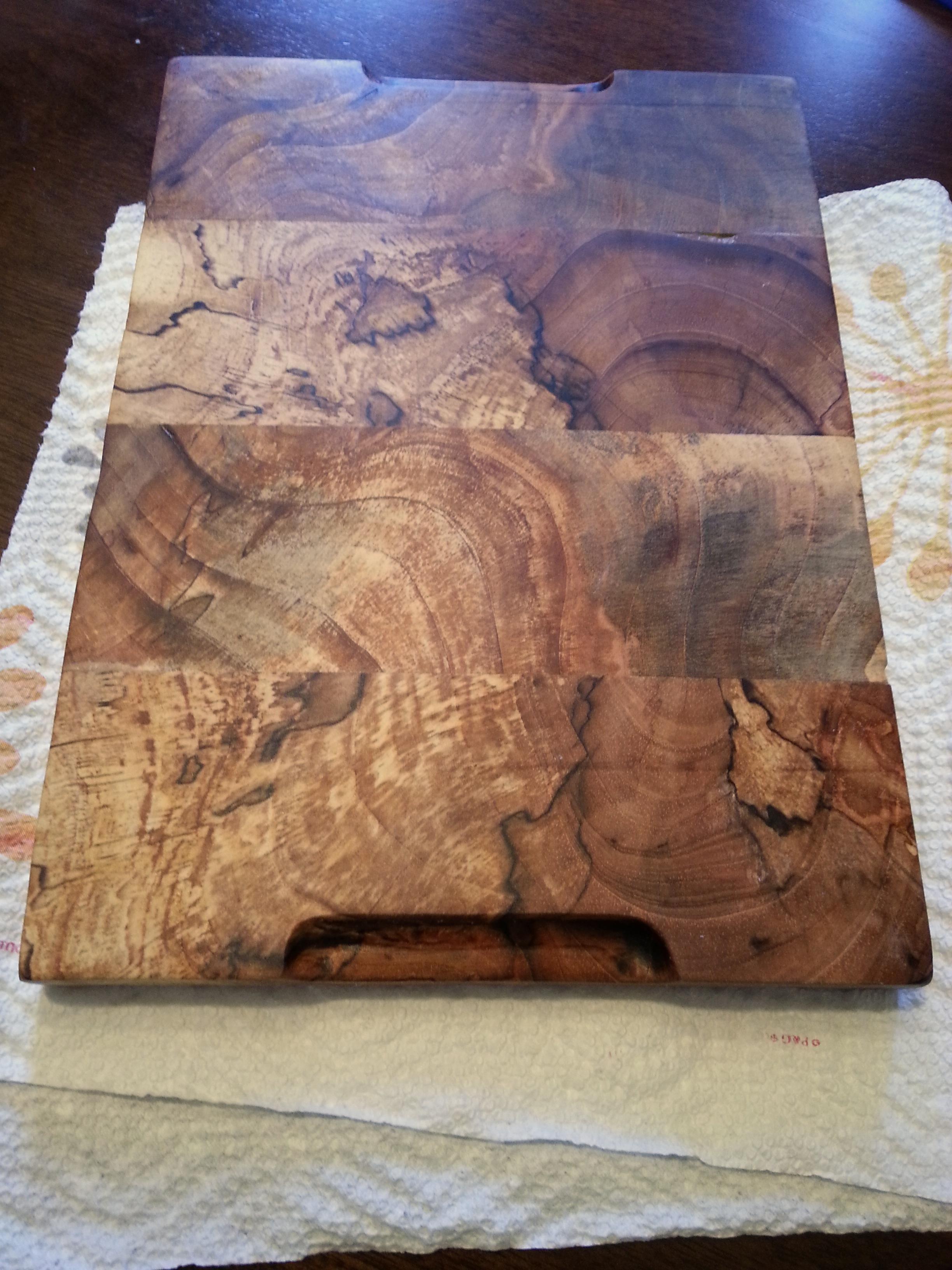 Pecan Wood Cutting Board Things Pat Made