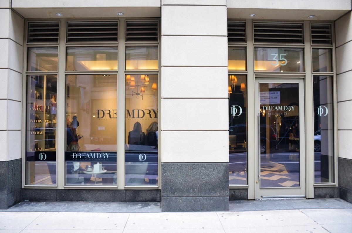 DreamDry x Style Collective: A Blowout Bar in New York