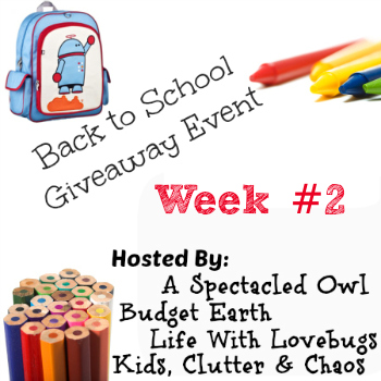 things for back to school giveaway