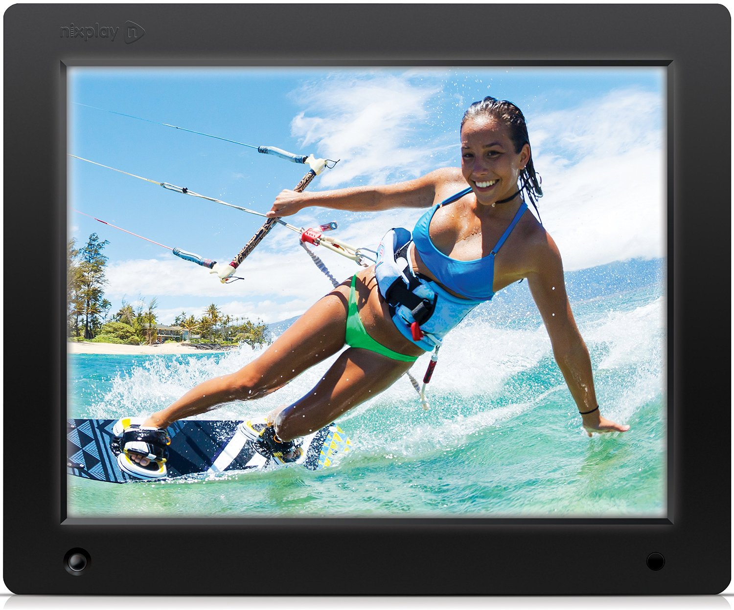 Nixplay 12 Inch Wi Fi Cloud Digital Photo Frame Things That Make