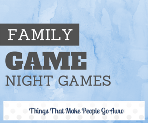 Bring Back Family Game Night- for the holidays!