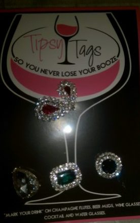 Tipsy Tags – Mark Your Glass!!