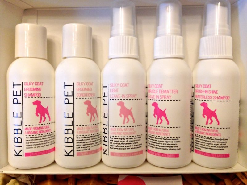 Kibble Pet Silky Coat Grooming Shampoo Conditioner Leave-In Spray Dematter Leave-In Spray Waterless Shampoo