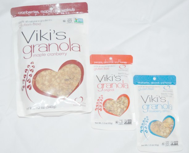 healthy snacking granola
