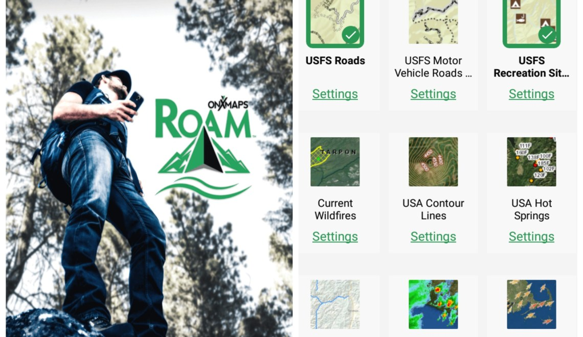 ROAM and find your way | Backpackers GPS