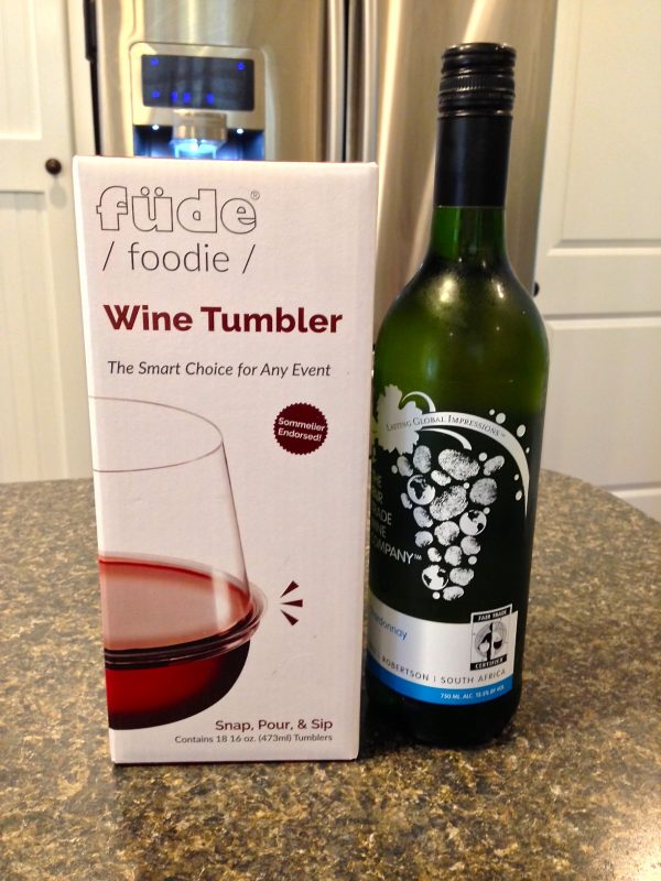 Füde Stackable Recyclable Wine Tumbler