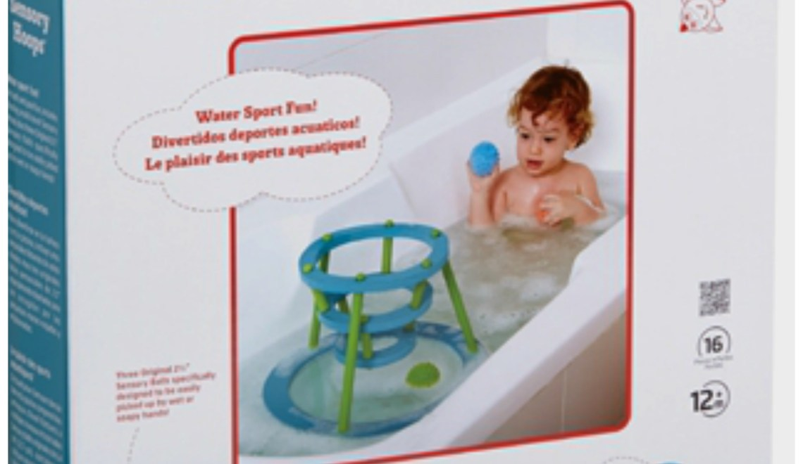 Bath-time is easy with Edushape!