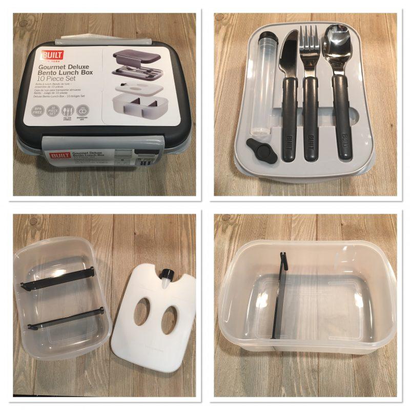 BUILT Deluxe Bento Lunch Box