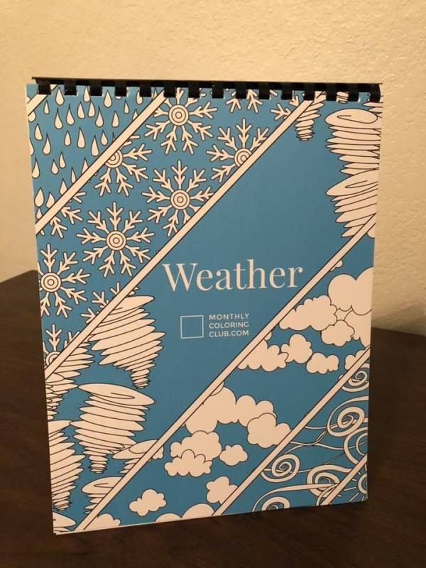 Coloring Books From The Monthly Club