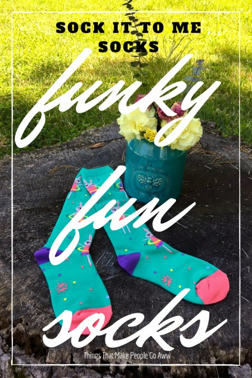 Funky Fun Socks - Sock It To Me Socks
