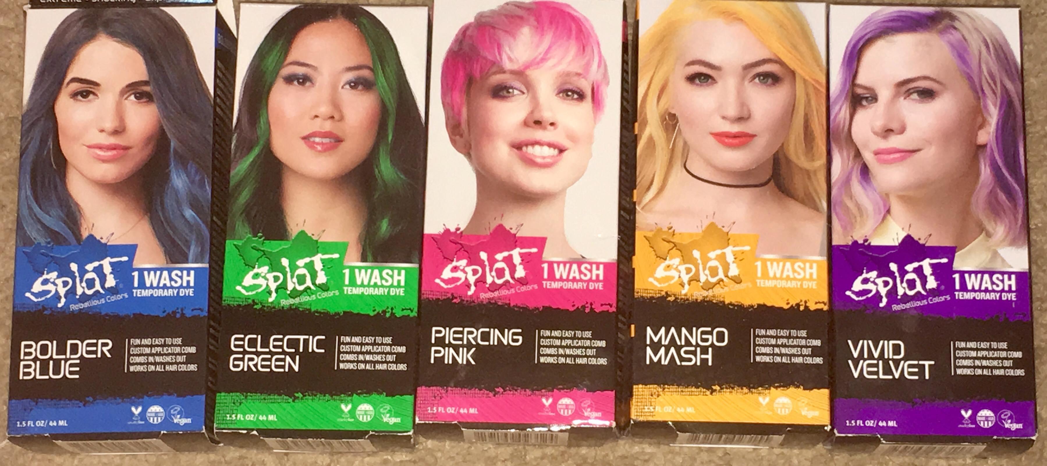 Splat 1 Wash Temporary Dye | Things That Make People Go Aww