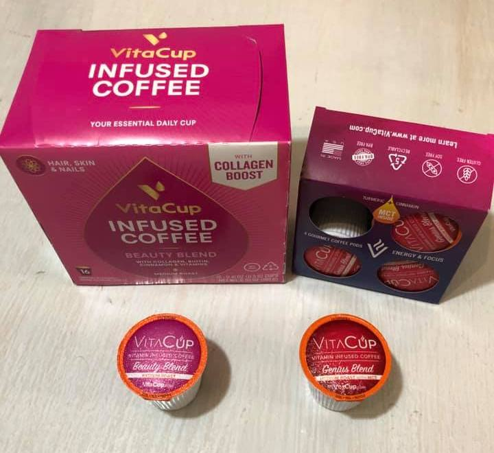 Coffee Pods that Help with Beauty and Brains