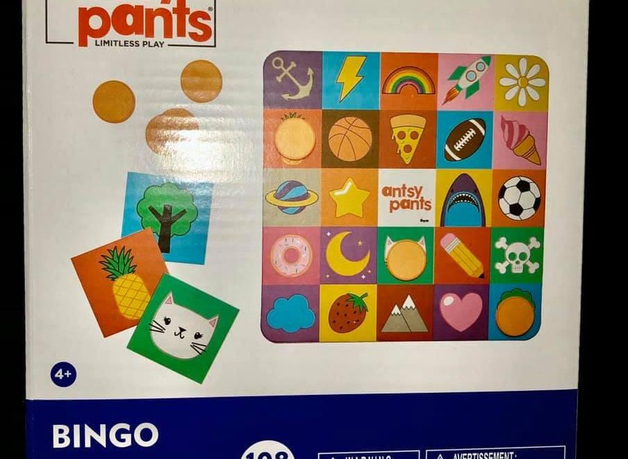 The Classic Bingo Game called Antsy Pants