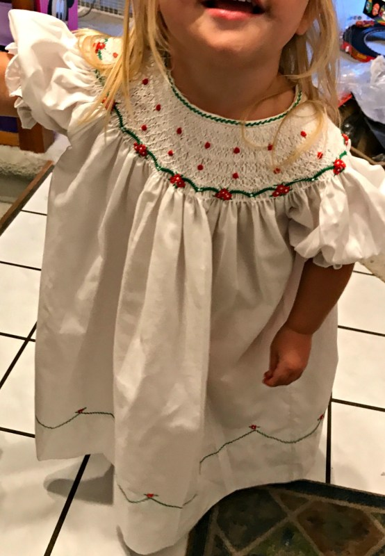 A Toddler Holiday Dress