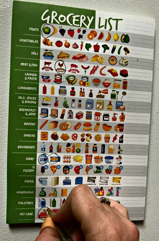 Have You Ever Heard Of A Visual Grocery List? It Makes Shopping Fun And Easy