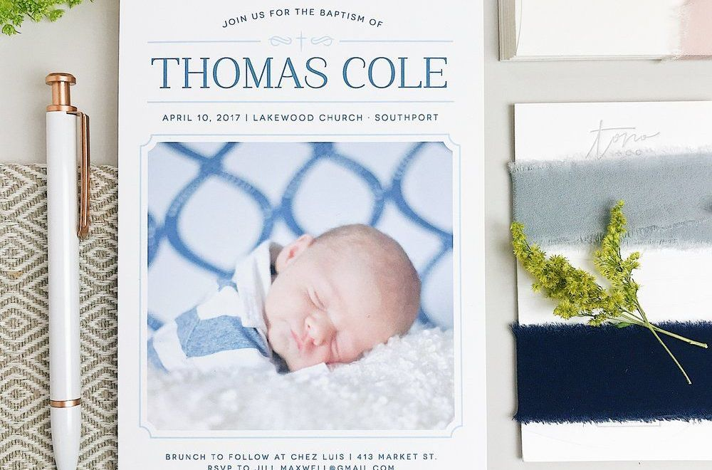 Personalized Birth Announcements
