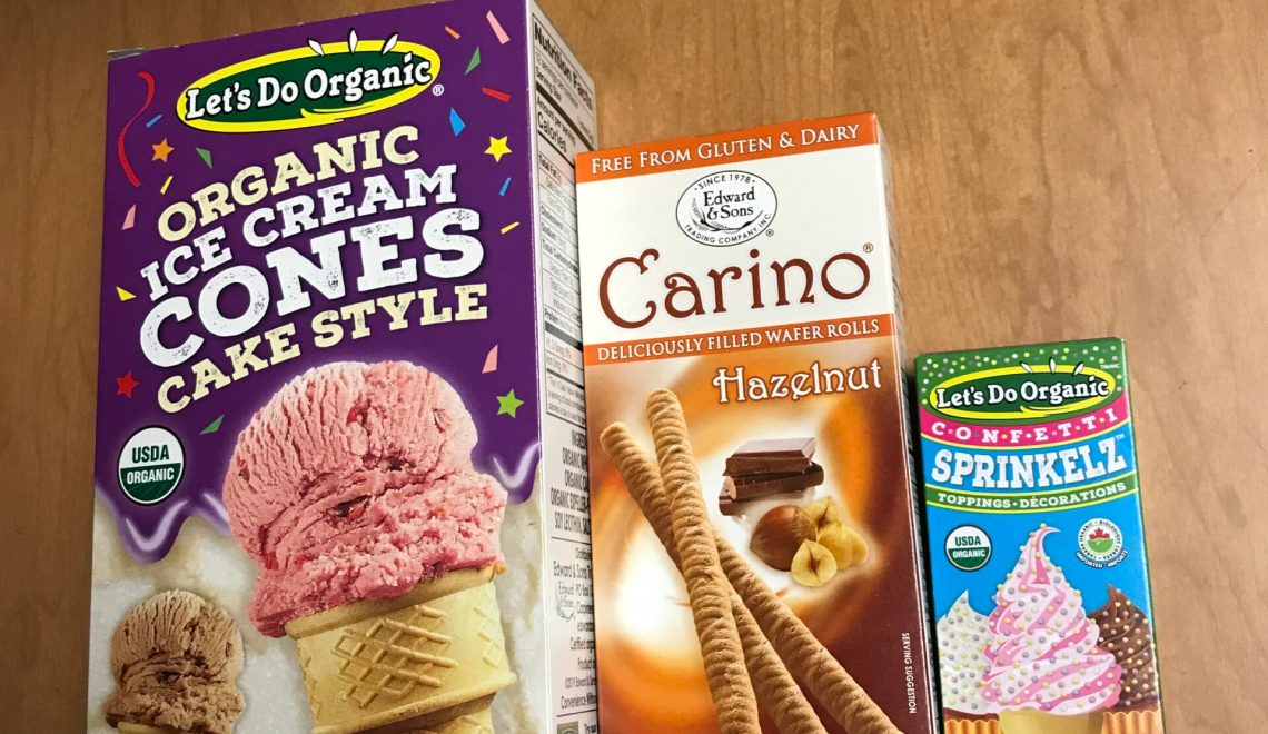 Cones, Wafers, And Sprinkles, Oh My!