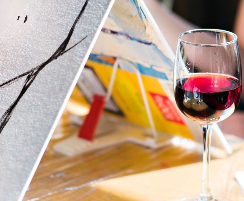 How to Host a Paint-and-Sip Party