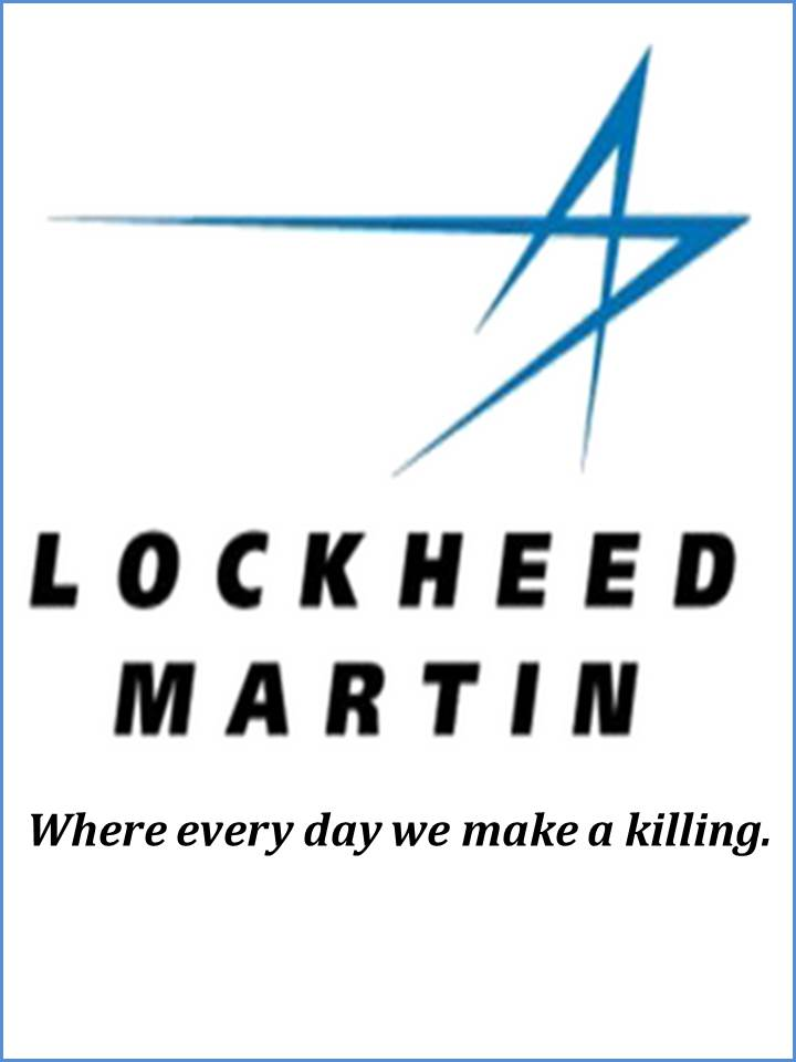 Arms manufacturer Lockheed Martin: What they say and what