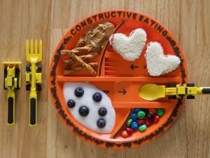 Construction Utensils Eating Set For Kids