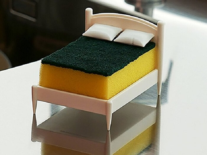 Kitchen Sponge Holder Bed   AWESOME THINGS TO BUY