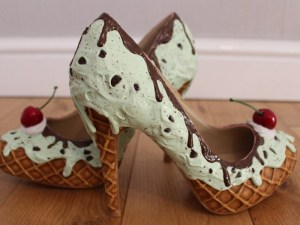 Ice Cream inspired heels