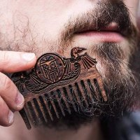 Viking Wooden Beard Comb