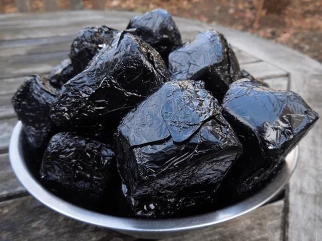 Chocolate Lumps of Coal