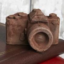 Vintage Chocolate Camera