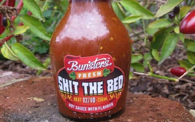 Shit The Bed Hot Sauce