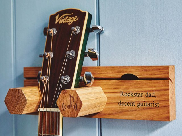 Personalised Guitar Stand
