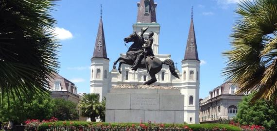 Louisiana Jackson Square