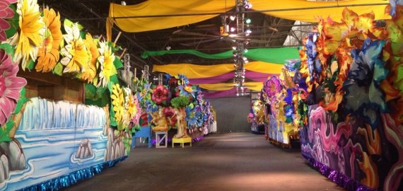 Louisiana Mardi Gras World
