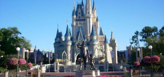 Florida Disney World Castle