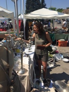Flea market in Nyon