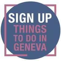 Newsletter Sign Up - Things to do in Geneva
