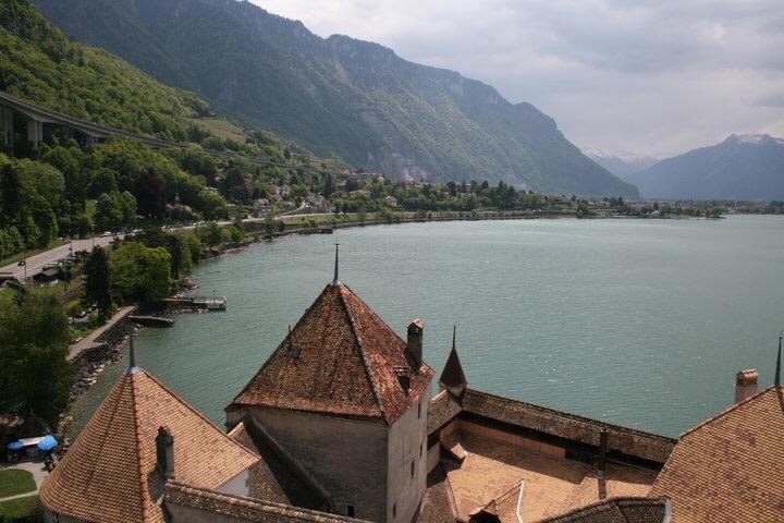 Fairy-tale castles near Geneva