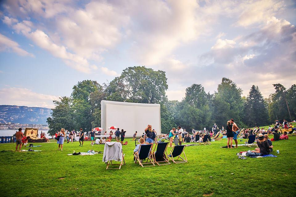 best outdoor cinemas in geneva