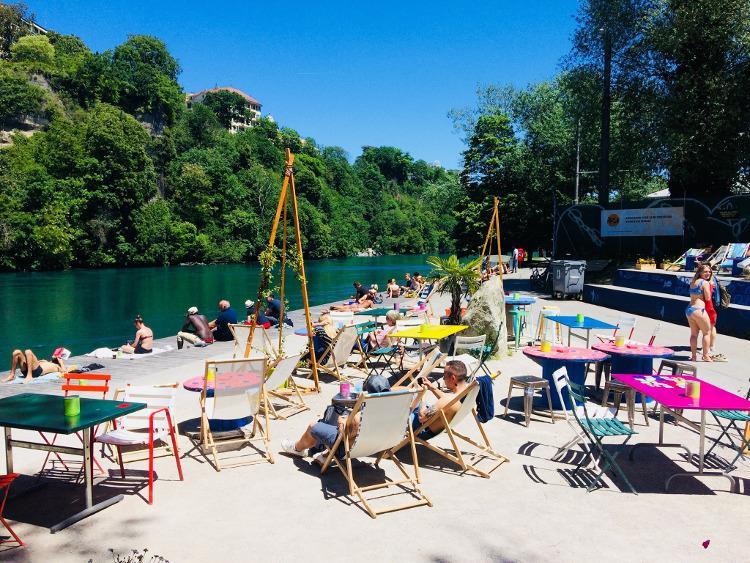 best lakeside terraces in geneva